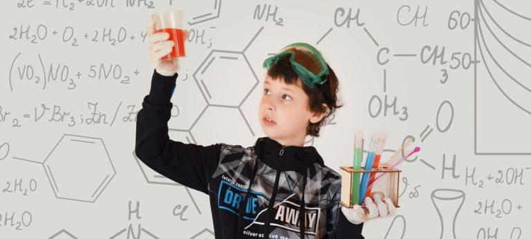 Kind Chemie Experimente IHK-Nachtschicht